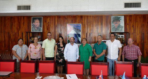 Visita Embajador de la República de Guatemala nuestra UCLV