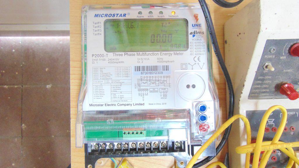 Medidor eléctrico de la UCLV