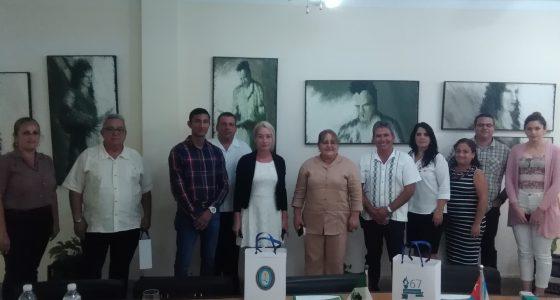 Visita delegación de México a nuestra UCLV