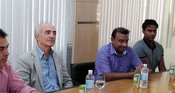 Visitan profesores de la Uniwa y la KTH la Universidad Central