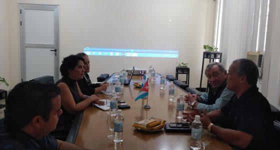 Visita nuestra institución Rector de universidad argentina