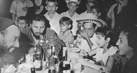 Hace 60 años, la Nochebuena de Fidel Castro con los carboneros (+Fotos)