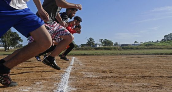 100 m (Eliminatorias)