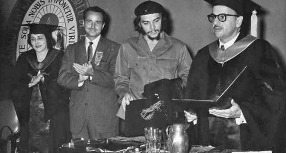 Claustro Solemne por el 60 Aniversario de la Investidura como Doctor Honoris Causa en Pedagogía a Ernesto Guevara
