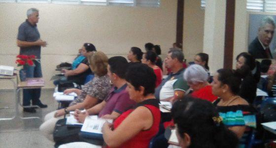 II Taller Provincial de Socialización sobre la Preparación y Superación de Cuadros