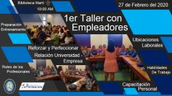 Primer Taller con empleadores