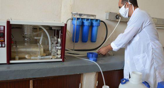 Destilar agua para hospitales de la ciudad, otro aporte de la UCLV