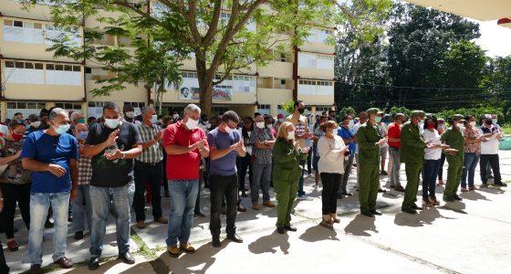 Reinauguración del edificio U-10 de la residencia estudiantil