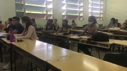 """Reinicio del curso académico en la sede central de la Universidad Central """"Marta Abreu"""" de Las Villas (UCLV)"""