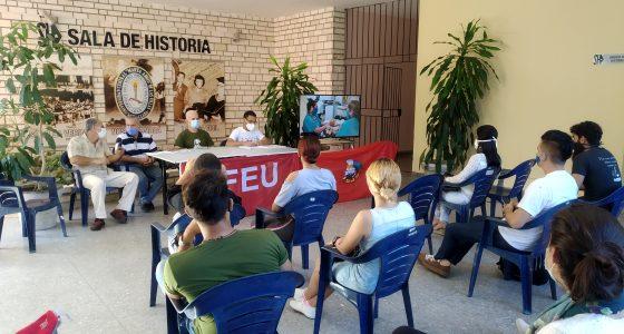 UCLV celebra 98 aniversario de la FEU