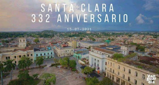 Santa Clara, 332 años de una ciudad pilonga
