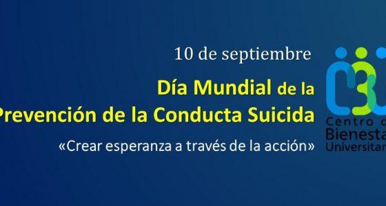 Jornada Universitaria para la Prevención de la Conducta Suicida