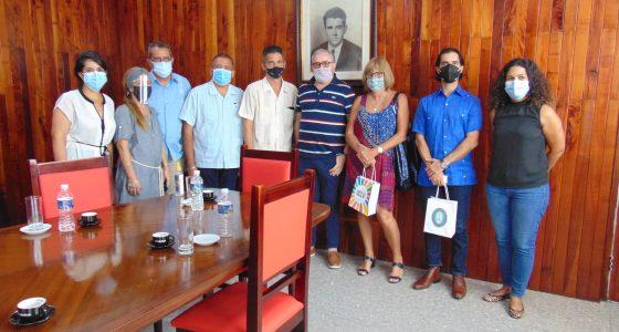 Visita Embajador de Argentina la UCLV